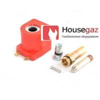 Ремкомплект катушки мультиклапана Astar Gas, Tomasetto (сердечник, якорь с пружинкой, катушка)
