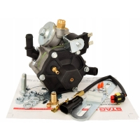 Редуктор AC STAG R02 (пропан-бутан) 100 кВт (136 л.с.) с ЭМК газа