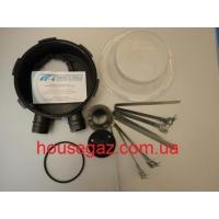 Вентиляционная коробка для мультиклапана косая